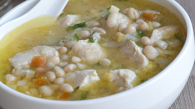 Chicken and White Bean Soup | Live Well New York