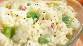 Calorie-Trimmed Potato Salad