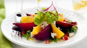 Beet-Orange Salad with Ricotta