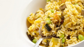 Brown Rice Veggie Stir Fry