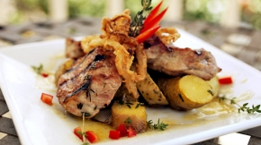 Grilled Jamaican Pork Tenderloin