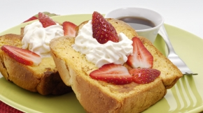 Strawberry Cream Cheese French Toast