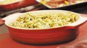 Low-Sodium Green Bean Casserole